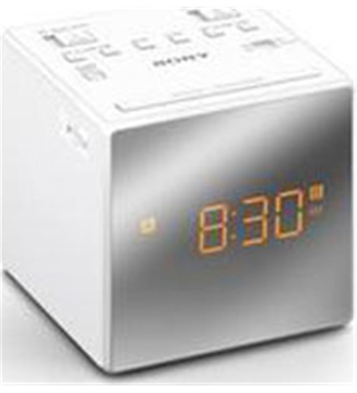 Radio reloj Sony ICFC1TW.ced 2 alarmas blanco - ICFC1TW