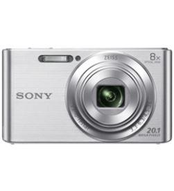 Camara fotos Sony kit dscw830sb plata 20.1mp 27.1m KW830SB - KW830SB