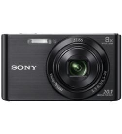 Camara fotos Sony kit dscw830bb negra 20.1mp 27.1m KW830BB - KW830BB