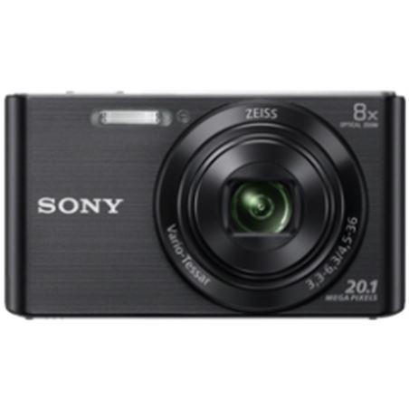 Camara fotos Sony kit dscw830bb negra 20.1mp 27.1m KW830BB