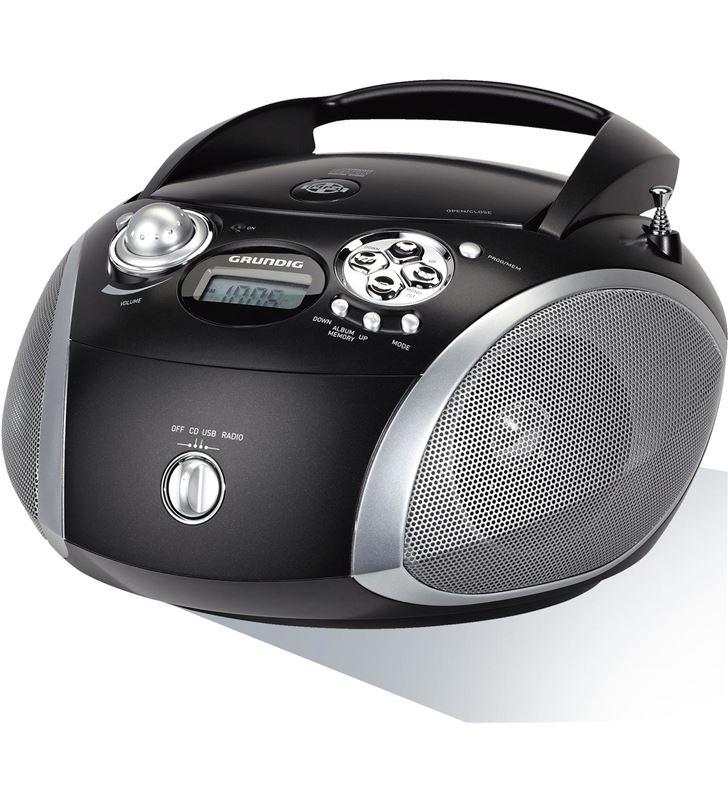 Radio cd Grundig GDP6330 rcd1445 usb negro/silver - GDP6330