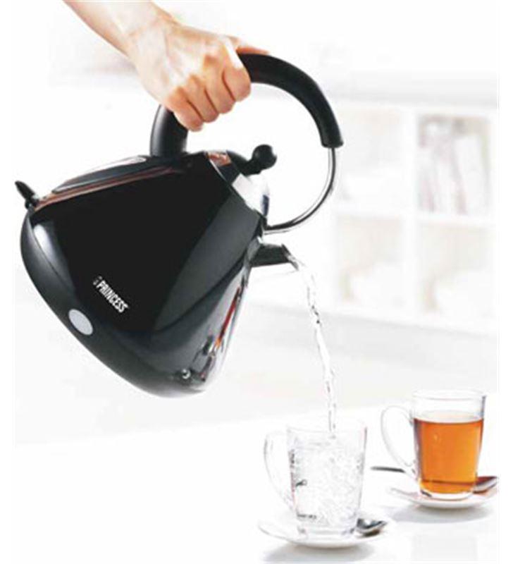 Hervidor Princess PS233022 kettle 1,7l negro - PS233022