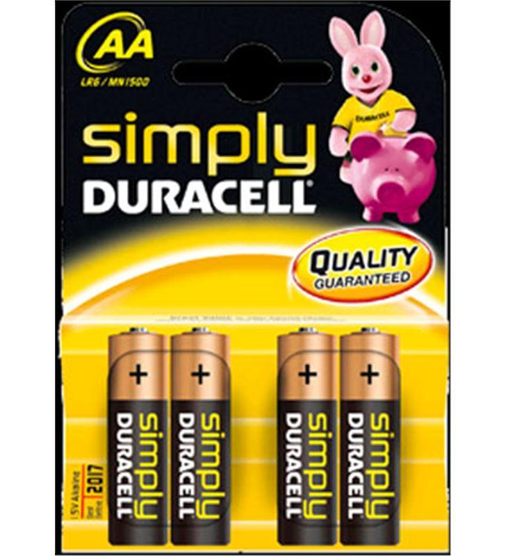 Pilas Duracell aa(lr06) simply 4kp braun*p&g AAMN1500BASICA - AA-LR06-SIMPLY4