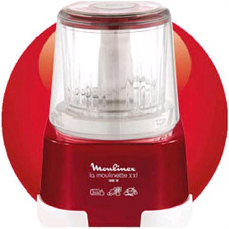 Picadora Moulinex DP800GBP 1,2,3 xxl roja
