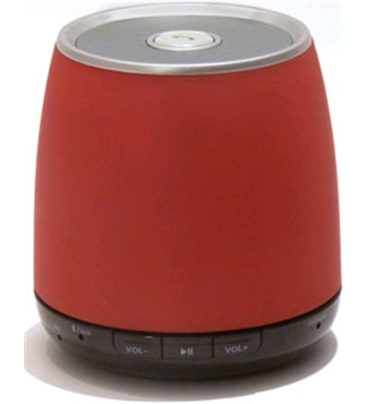 Altavoz Elbe ALTMR11BT mini bluetooth rojo - ALTMR11BT