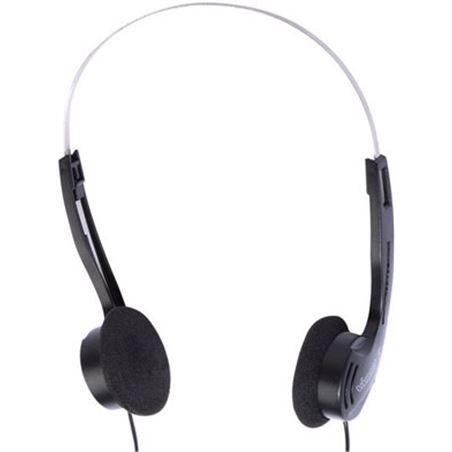 Auricular diadema Vivanco sr50 negro 32253