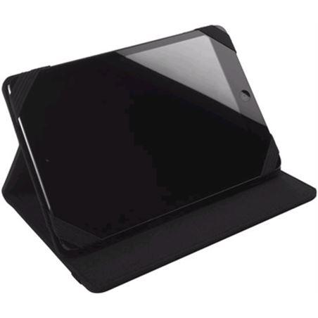 Funda tablet 7'' Vivanco pouch/canvas 17.8cm negra 32334