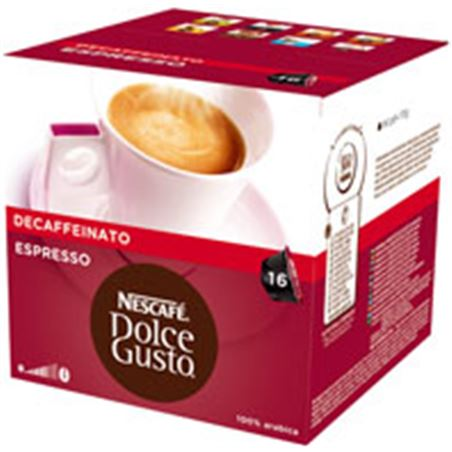 Nestle cafe dolce gusto espresso descafeinado 12045472caixa