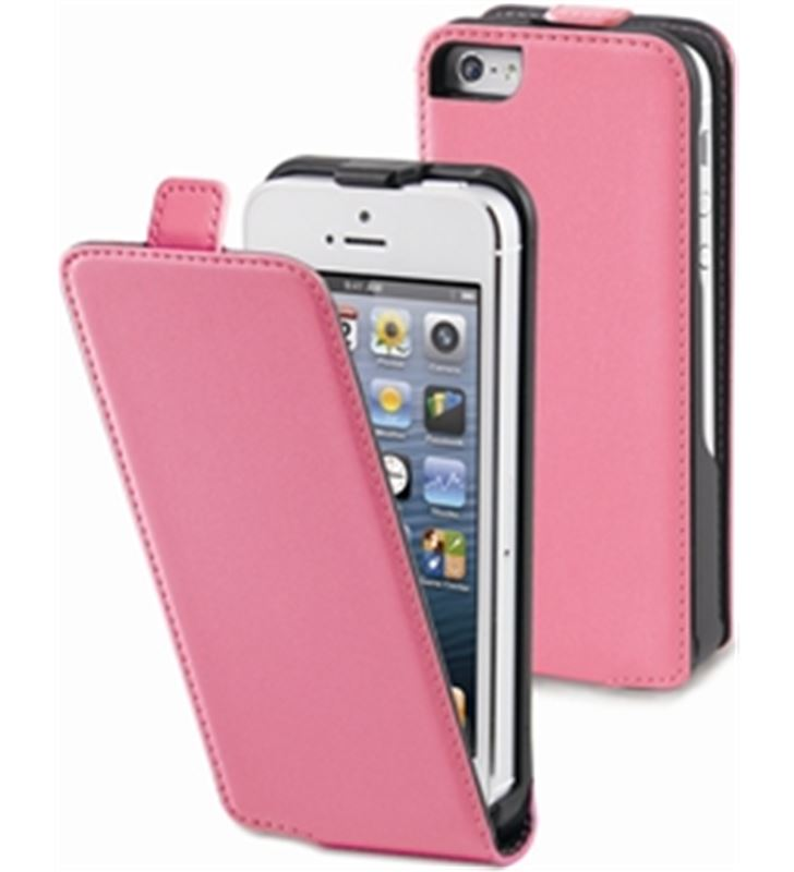 Funda slim rosa iphone 5 Muvit MUSLI0072 - MUSLI0072
