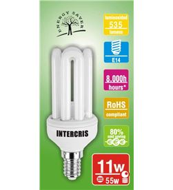 Intercris 160054 bombilla bajo cons. 11w 8000h (005) - 160054-005