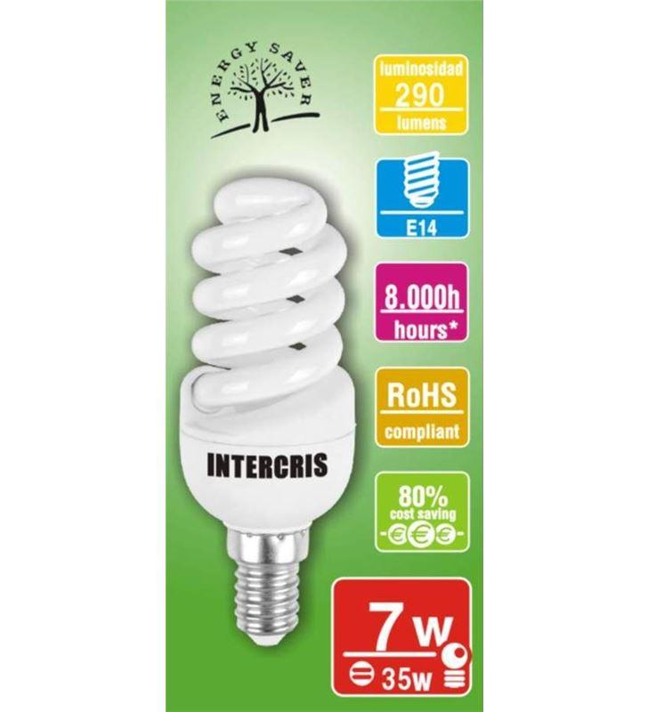 Intercris 160207 (020) bombilla bajo cons. 7w 8000h(020) - 160207-020