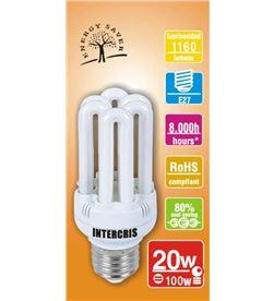 Intercris 160153 (015) bombilla bajo cons. 20w 8000h(015) - 160153-015