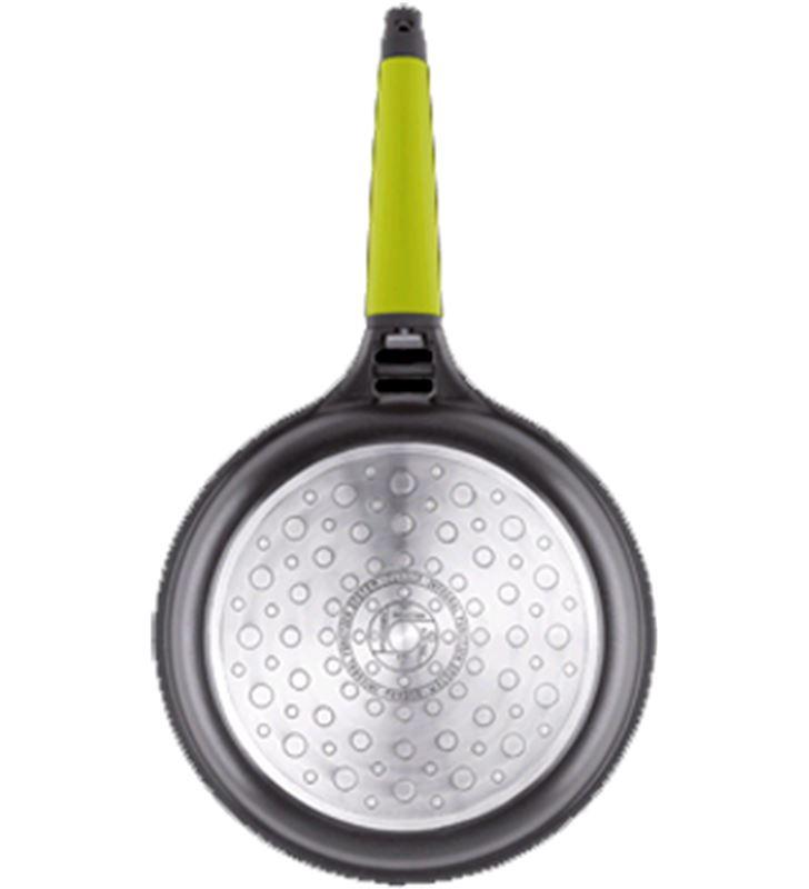 Sarten induccion Fundix f3-i28 28cm mango verde F3I28 - F3I28