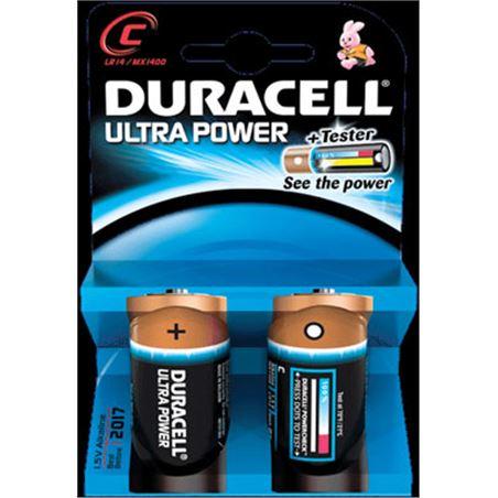Pilas Duracell ultra power c(lr 14) 2 un alcalinas c(lr14)ultra