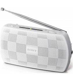 Radio portatil Sony SRF18W blanca (entrada mp3) - SRF18W