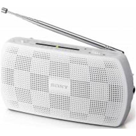 Radio portatil Sony SRF18W blanca (entrada mp3)