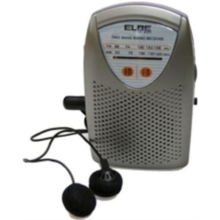 Radio bolsillo Elbe rf-50 con auriculares RF50