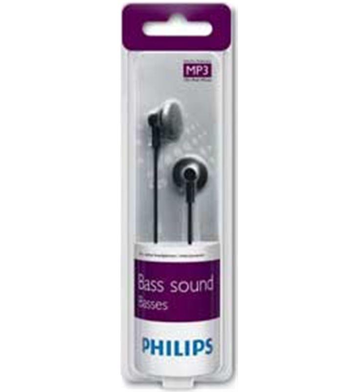 Auricular boton Philips SHE2000/10 negro - SHE2000