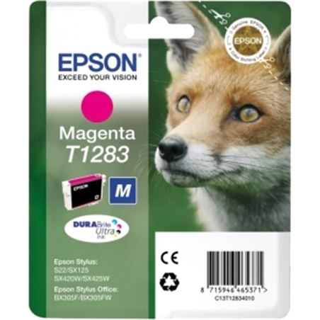 Cartucho tinta Epson (sx130) t1283 magenta c13t12834011