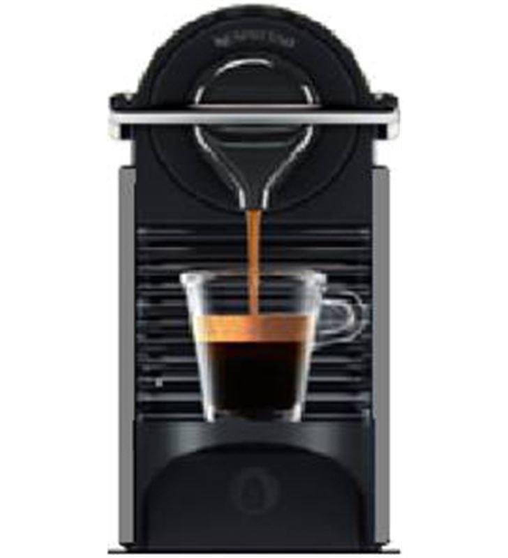 Cafetera nespresso Krups XN3005 pixie titan - XN3005P4