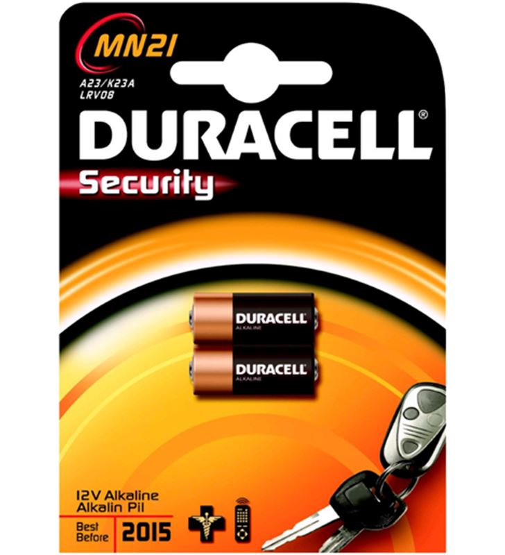 Pilas Duracell 12v MN21(3lr50) a23/k23a/lrv08 2uni - MN21-3LR50