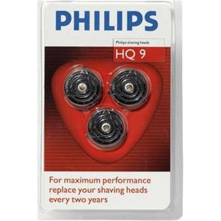 Cuchillas Philips hq9/40-hq9/50 pack 3 9100-8100 s