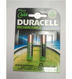 Duracell RECARGLR03B2 pilas rec. 1.2v aaa hr03/dx2400 800mah - 81241740