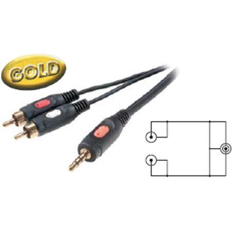 Cable Vivanco 5/09 jack 3,5mm a 2 rca -41030-4167