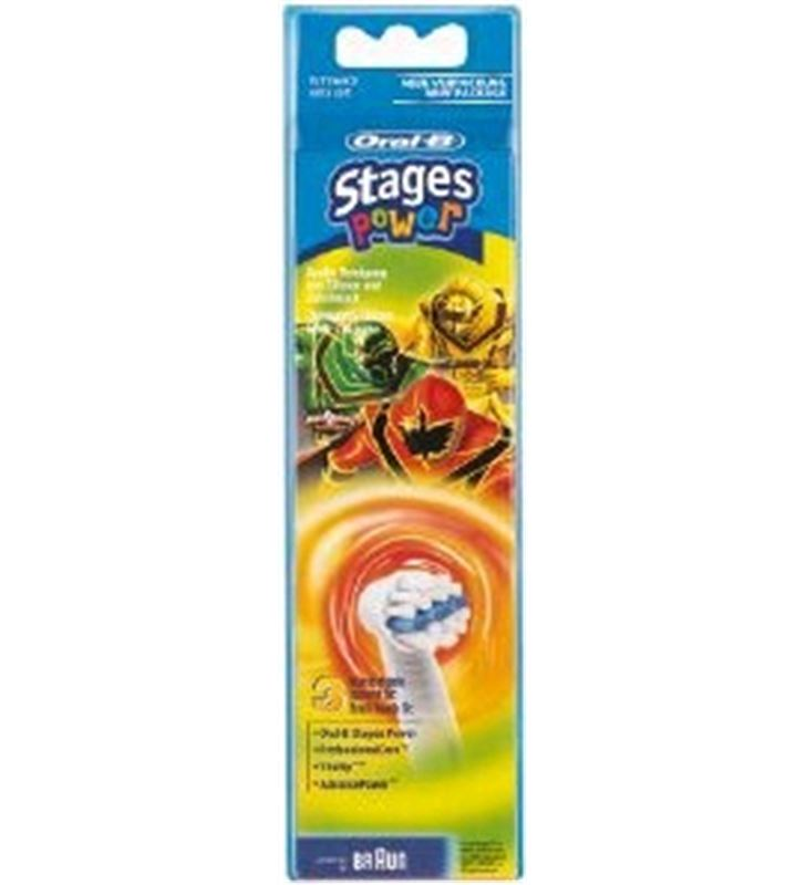 Recambio cepillo dental Braun*p&g eb10-3 ffs niños EB103FFS - 64706725