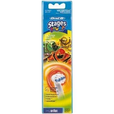 Recambio cepillo dental Braun*p&g eb10-3 ffs niños 64706725