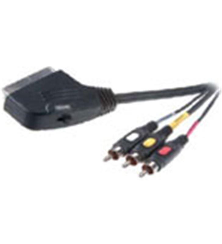 Cable euroconector Vivanco 9/84n 3rca 2mt 42017 - 9-84-N-42017