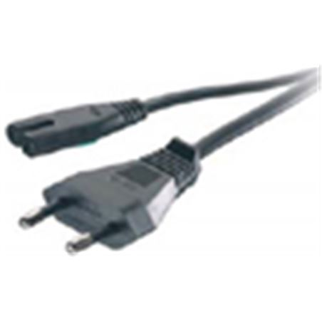 Cable corriente Vivanco vn 125-n tp.8-1.25 m negro 41095