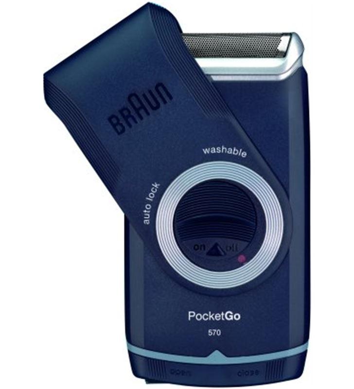 Afeitadora Braun pocket m60 pilas *new* M-60 - M-60