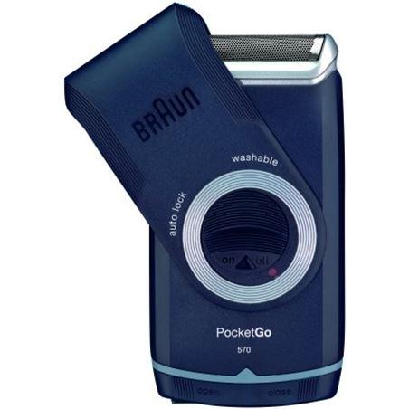 Afeitadora Braun pocket m60 pilas *new* M-60