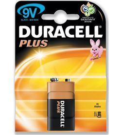 Pilas Duracell 9v 6lr61/mn1604 DURMN1604K1 Cables - 9V-6F22-PLUS