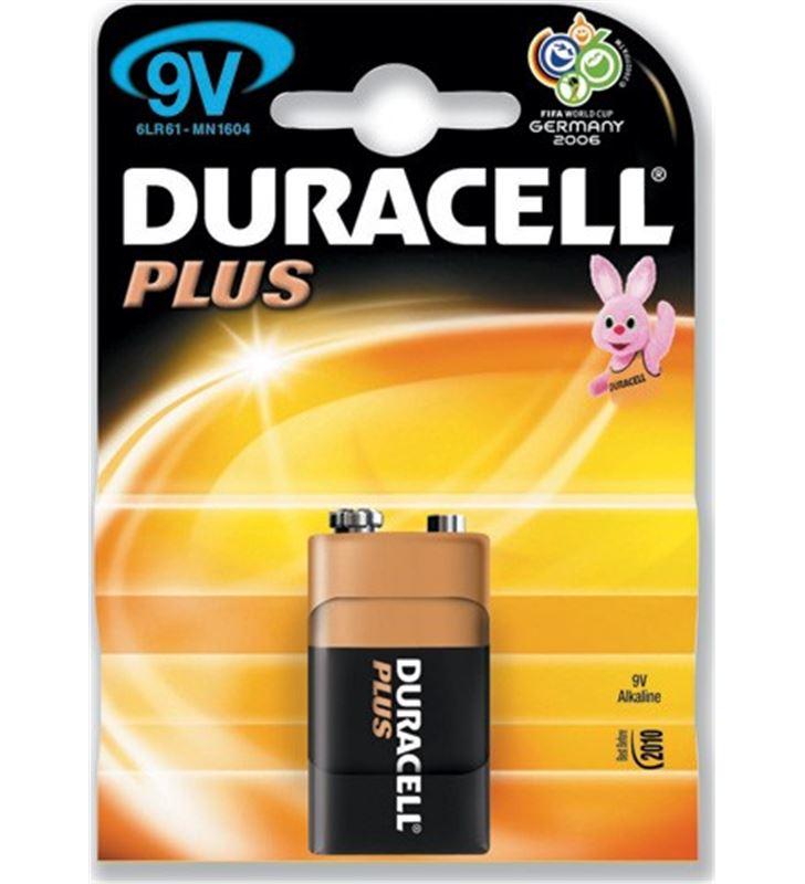 Duracell 9V(6F22)PLUS pilas 9v 6lr61/mn1604 durmn1604k1 - 9V-6F22-PLUS