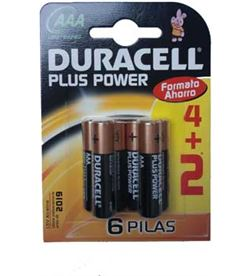 Pilas Duracell plus power aaa(lr03) 4kp alcalinas LR03K4 - AAA-LR03-PPOWER