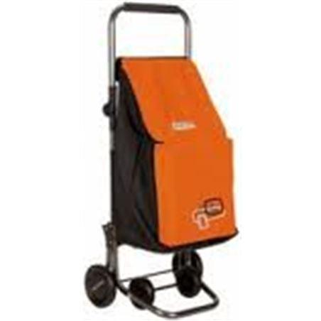 Playmarket carro compra play forzudo plegable naranja/negro 24200620