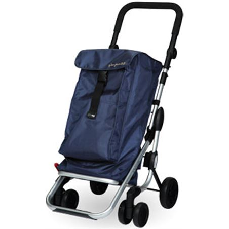 Playmarket carro compra play plegable go up azul oscuro 24910217