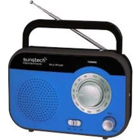 Radio portatil Sunstech RPS560BL azul
