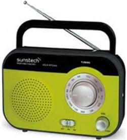 Radio portatil Sunstech rps560rd verde RPS560GR Radio y Radio/CD - RPS560GR