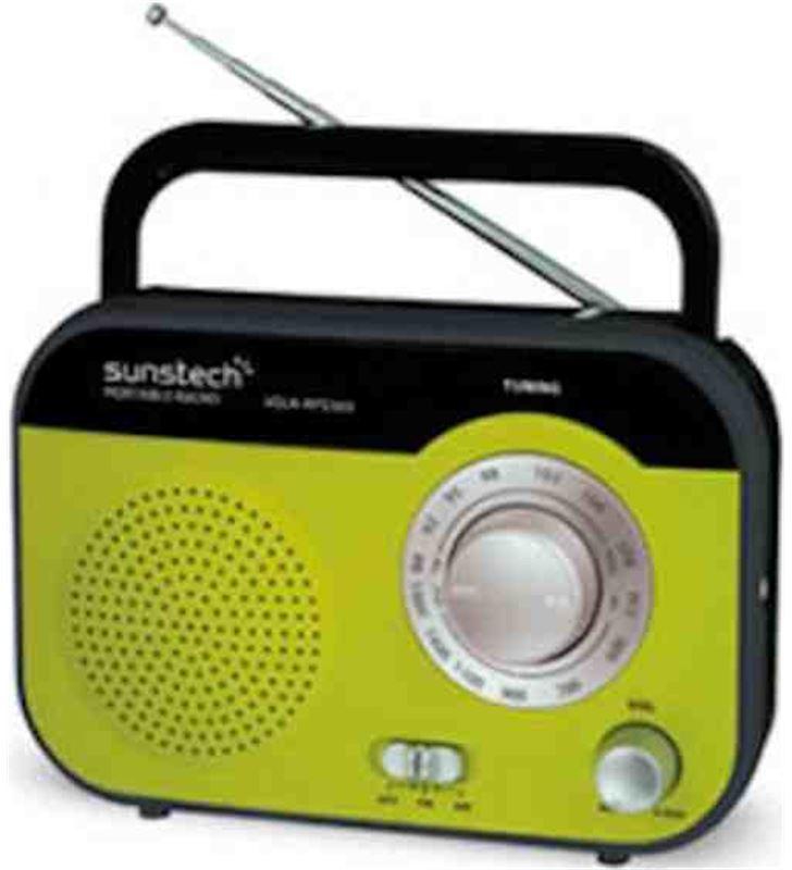 Radio portatil Sunstech rps560rd verde RPS560GR - RPS560GR