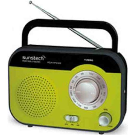 Radio portatil Sunstech rps560rd verde RPS560GR