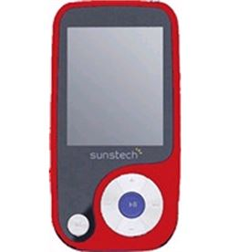Mp4 4gb Sunstech thorn rojo 1.8'' THORNRED Reproductores MP3/4/5 - THORN4GB