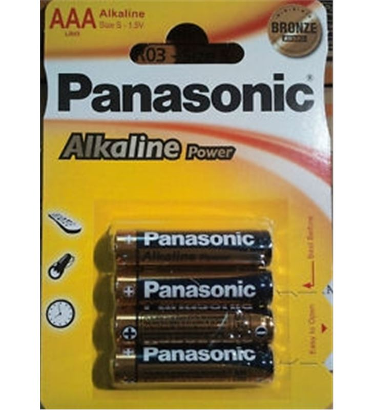 Panasonic LR03 AP pilas alcalinas 1.5v ( 4-blis panlr03_4 - LR03-AP