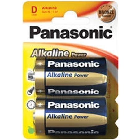 Pilas alcalinas Panasonic 1.5v lr20 ap ( 2-blis PANLR20_2