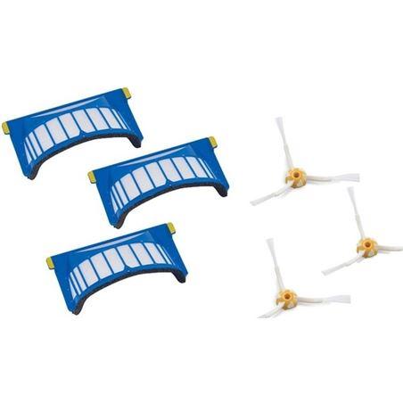 Filtro+cepillo lateral Irobot roomba serie 600 (3u 4359690