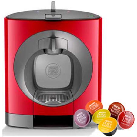 Pack cafetera+2cafe dolce gusto Krups oblo roja KP1105