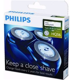 Cuchillas Philips hq55/40-56/50 serie 6000 pack 3 hq56/50 - HQ56-50
