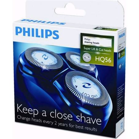 Cuchillas Philips hq55/40-56/50 serie 6000 pack 3 HQ5650